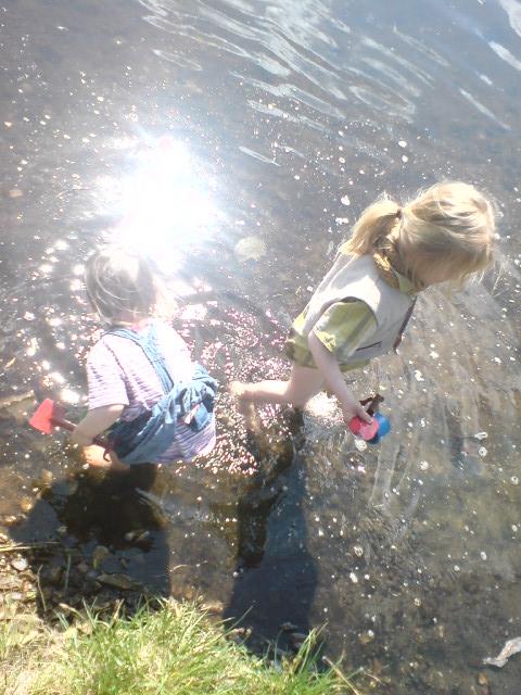 Alltag: Dinner am See – Brunch an der Spree