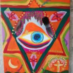 Tantric Eye of Seraphim - Acryl/Canvas 2017-18