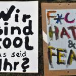 f*ck hate&fear - Ö-Aktion 2015